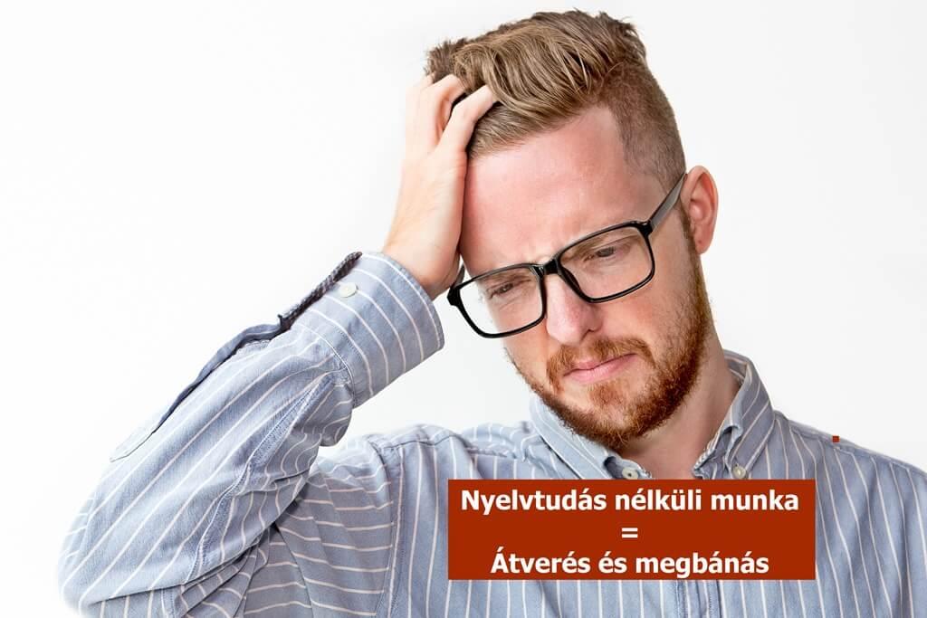 Nyelvtudás nélküli munka